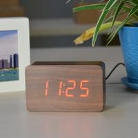 Электронные часы в деревянном корпусе VST-863-3