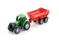 Игрушечный трактор Farm World с прицепом, 1 шт