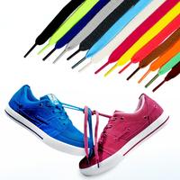 Шнурки для обуви плоские цветные 100см, 2 шт