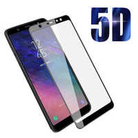 Защитное 5D стекло для Samsung Galaxy A6 Plus/A9 (2018г.)