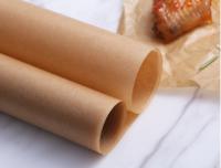 Бумага для выпечки силиконизированная 38х42 см, 10 листов, коричневая
