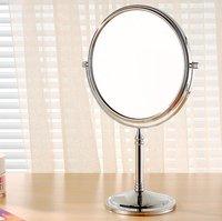 Зеркало настольное на подставке овальное двухстороннее, 12,5х16 см