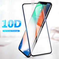 Защитное 10D стекло для Iphone X/XS