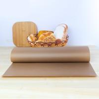 Бумага для выпечки силиконизированная коричневая 380мм/25метров
