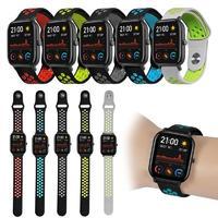 Умные фитнес-часы Smart Watch T55 с двумя ремешками