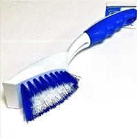 Щетка для мытья посуды с ручкой и скребком WS-05