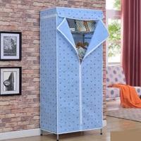 Мобильный тканевый шкаф-гардероб Storage Wardrobe (90х45х155 см) 8890
