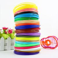 Набор цветного ABS-пластика для 3D-ручек 10м, 6 цветов