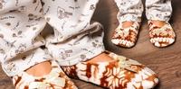 Домашние тапочки детские велюр