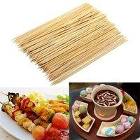 Шпажки-шампуры бамбуковые 150 мм, 100 шт