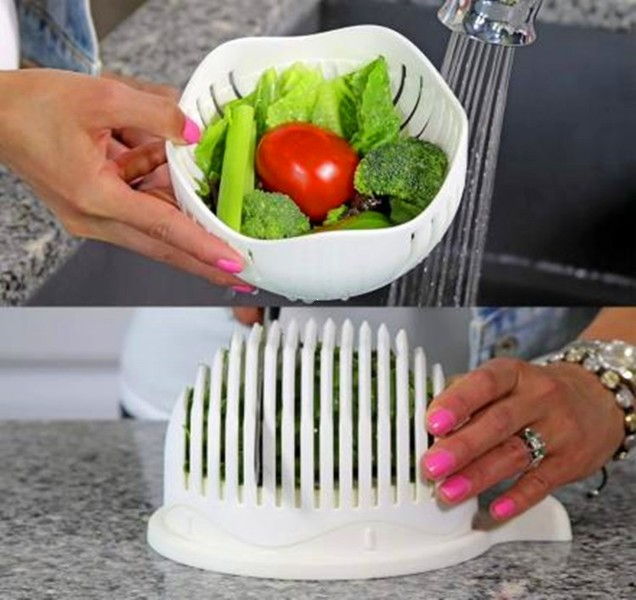 Овощерезка для салата Salad Cutter Bowl