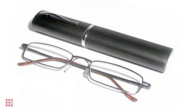 Очки корригирующие карандаш с футляром (узкие)