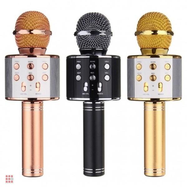 Умный беспроводной караоке микрофон Wsier Ws-858