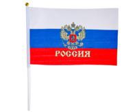 Флаг РОССИЯ, 20х28 см