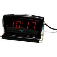 Часы настольные VST 718-1 красные цифры