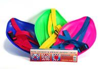 Санки-ледянки с ремнем, 4 цвета