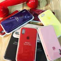 "Чехол ""silicone case iphone Х"""
