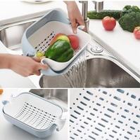 Корзина-дуршлаг для мытья фруктов и овощей