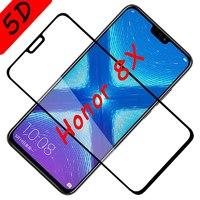 Защитное 5D стекло для Honor 8X