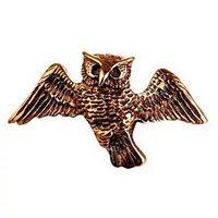 Кошельковый талисман Сова летящая