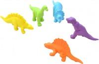 Набор резиновых Динозавриков, 5шт