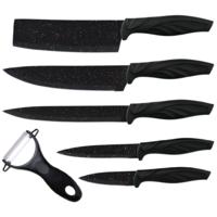 Набор кухонных ножей Zepter с топориком, 6 предметов