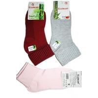 Носки женские с отворотом 6024