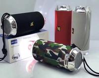 Портативная Bluetooth колонка AK115 + фонарик