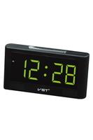Часы настольные VST 732-2 зелёные цифры