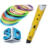 Набор цветного PLA-пластика для 3D-ручек 10м, 20 цветов