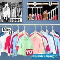 Вешалка для одежды Цепочка (Wonder Hanger) оптом