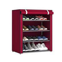 Тканевый стеллаж для обуви Shoe Cabinet 8238
