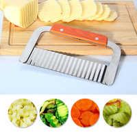 Рифленный нож для фигурной нарезки овощей и фруктов