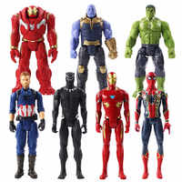Фигурки супергероев Марвел