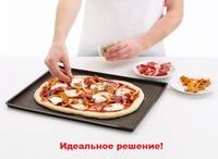Коврик-форма для пиццы перфорированный, 39х30 см, силикон