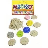 Кинетический песок-штампики 6 шт