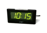 Часы настольные VST 732-4 ярко зелёные цифры