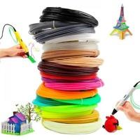 Набор цветного ABS-пластика для 3D-ручек 10м, 15 цветов