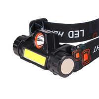 Налобный аккумуляторный фонарь FA-101/YB-101/1807/HT-665