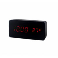 Электронные часы в деревянном корпусе VST-862