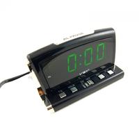 Часы настольные VST 718-4 зеленые цифры