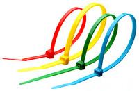 Хомут нейлоновый для стяжки 2,5х200мм, цветной 15шт/пак