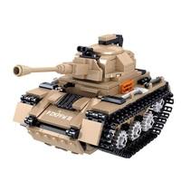 Конструктор ARMORED FIST «Танк», 377 деталей