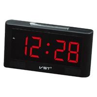 Часы настольные VST 732-1 красные цифры