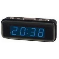 Часы настольные VST 738-5 синие цифры