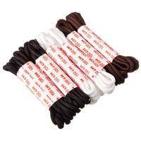 Шнурки для обуви, 6 пар, черные, белые, коричневые