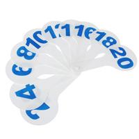 Касса цифр от 1 до 20, прямой и обратный счет, 10пр
