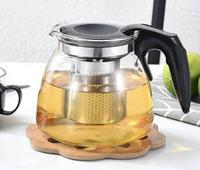 """Чайник заварочный стеклянный """"Glass Teapot"""" 1100 мл"""