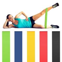 Набор эластичных лент для фитнеса Latex band, 5шт