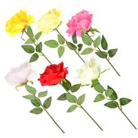 Цветок искусственный в виде розы, 57 см
